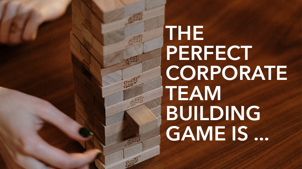 corporate team building game