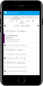 Mobile Employee Scheduling Software